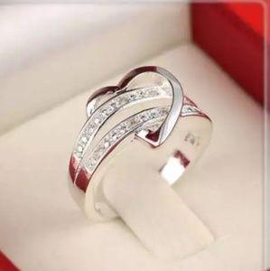 Jewelry - ❤ Love Heart Ring Women's Silver ❤